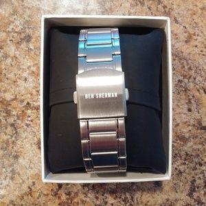 Ben Sherman Accessories - BEN SHERMAN Men's Blue Face Bracelet Watch